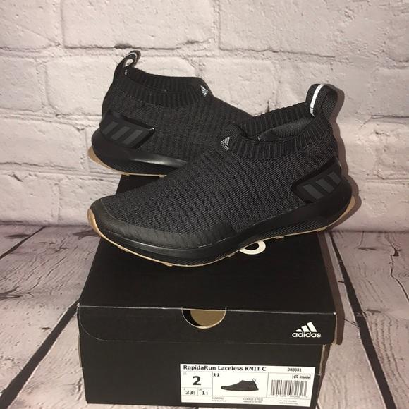 separation shoes 6a688 bbeb2 NIB rapidarun laceless KNIT c kids size 2